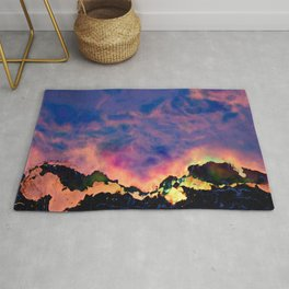 The World On Fire Rug