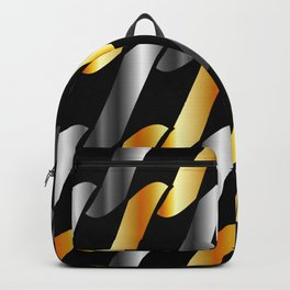 Metal texture Backpack