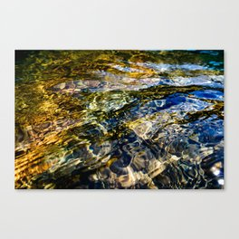 Warm Yuba Ripples Canvas Print