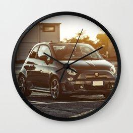 Abarth 595 Competizione Cabrio Wall Clock