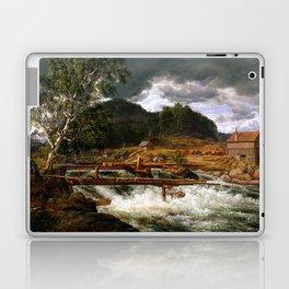 Johan Christian Dahl Hellefossen near Hokksund Laptop & iPad Skin