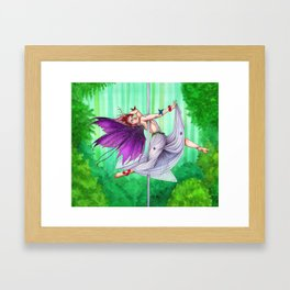 Pole Creatures - Fairy Framed Art Print
