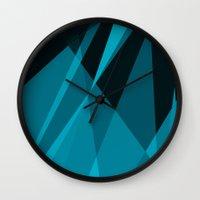 heisenberg Wall Clocks featuring Heisenberg by mobokeh