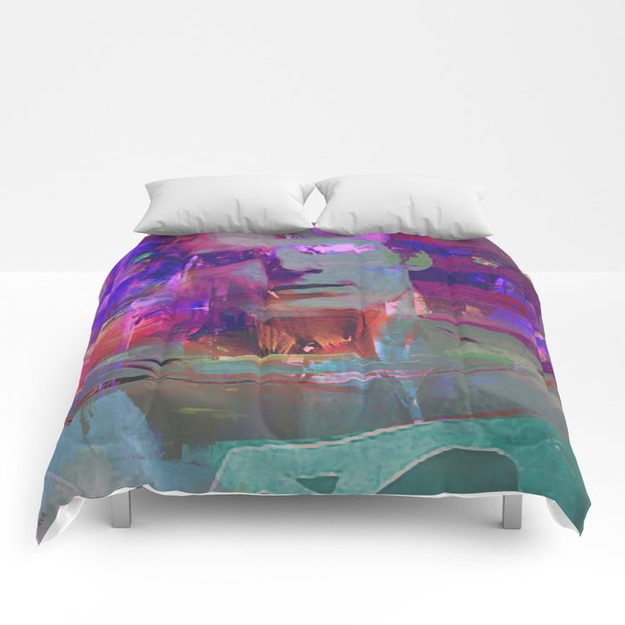 Super Abstract Man Comforters