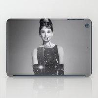 hepburn iPad Cases featuring Audrey Hepburn by Laure.B