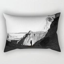Man of isolation Rectangular Pillow