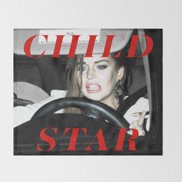Child Star Throw Blanket