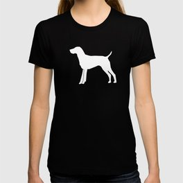 German Shorthair Pointer dog breed pet portraits dog silhouette unique dog breeds T-shirt