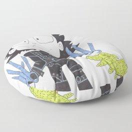 Mr Scissor Hands Floor Pillow