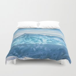 Pressure ridge of lake Baikal Duvet Cover