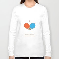 I am the sport! part1 ping pong  Long Sleeve T-shirt