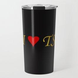 I LOVE TS Travel Mug