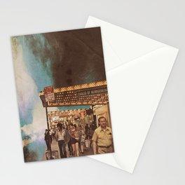 Las nubes ,las luces y el cielo Stationery Cards