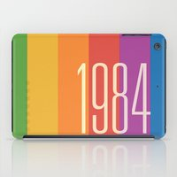 1984 iPad Cases featuring 1984 (v) by Dan Rubin