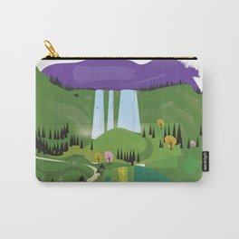 Cartoon landscape Carry-All Pouch