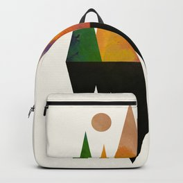 Abstract Mountains Backpack