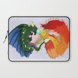 The Dragon And The Phoenix Laptop Sleeve