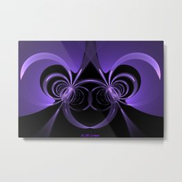 Planetary Twins Metal Print