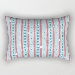 SewingStripes Rectangular Pillow