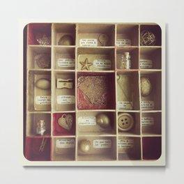 Cabinet de curiosités Metal Print
