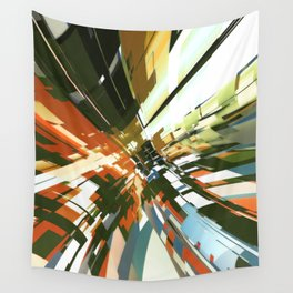 Abstract Composition 144 Wall Tapestry