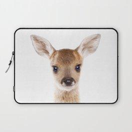Baby Deer, Baby Animals Art Print By Synplus Laptop Sleeve