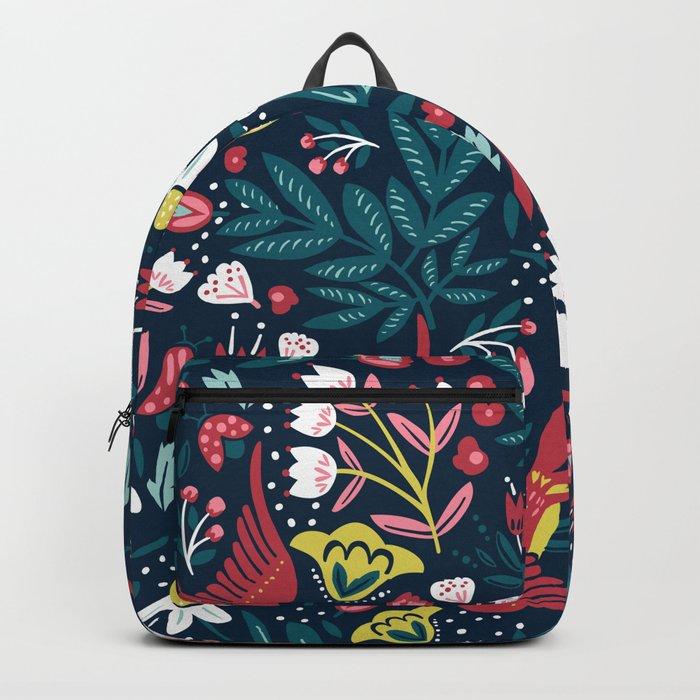 Vintage Fashion Backpack