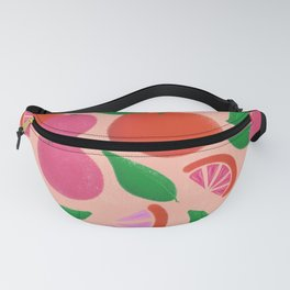 When life gives you red lemons Fanny Pack