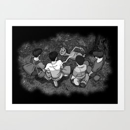 Stand By E.T. - The Other Body Art Print
