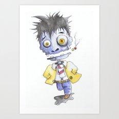 Dead Man Running Art Print