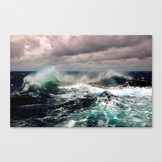 Waves XCI Canvas Print