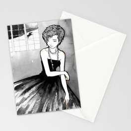 Odile - The black swan Stationery Cards