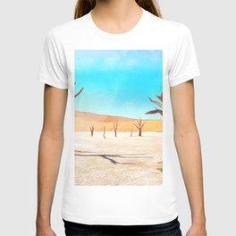 deadvlei desert trees acrstd T-shirt