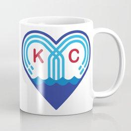 Kansas City Fountain Heart Coffee Mug