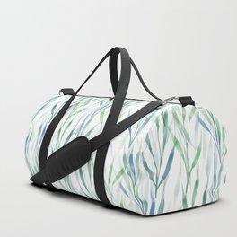 Watercolor Reeds Duffle Bag