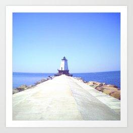Scenic Lighthouse Art Print