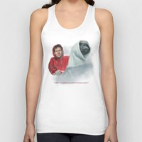 mulder Tank Tops featuring Mulder and the ET files by Magdalena Almero