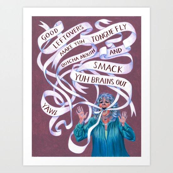 Paula Deen Art Print