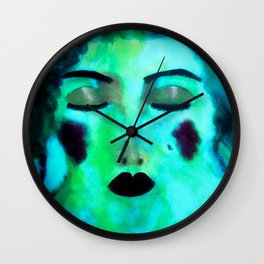 She Became One With Water Wall Clock