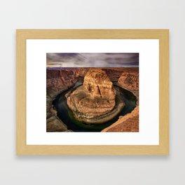 Horseshoe Bend - Arizona Framed Art Print