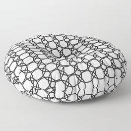 Eloos B&W Floor Pillow