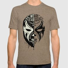 SOLAR SQUAD MAN 3 Tri-Coffee SMALL Mens Fitted Tee