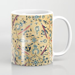 Kermina  Suzani  Antique Uzbekistan Embroidery Coffee Mug