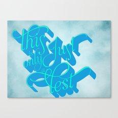 What I Hear Canvas Print