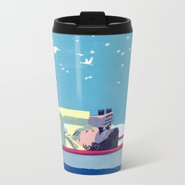 What Do the Birders Know? Metal Travel Mug
