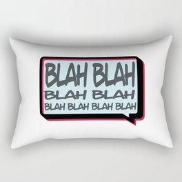 Blah Rectangular Pillow