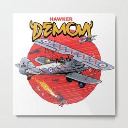 Hawker demon Metal Print