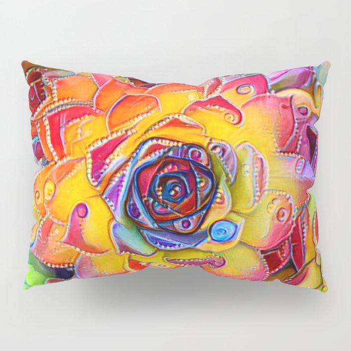 Succulent Madness Pillow Sham