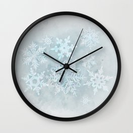 Snow is coming Wall Clock