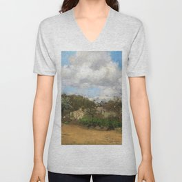 View From Louveciennes - Digital Remastered Edition Unisex V-Neck